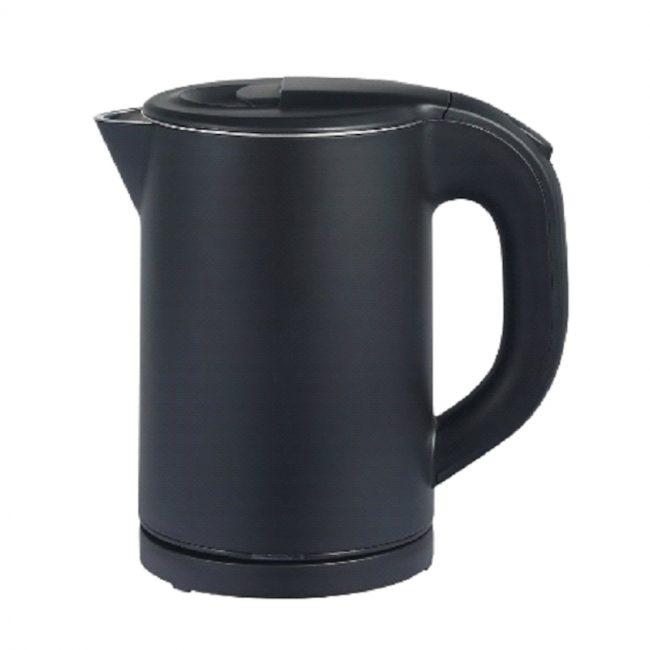 KETTLE, CORDLESS, DOUBLE WALL (BLACK COLOR), 0.8L